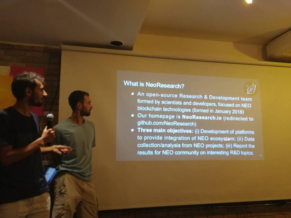 Vitor Coelho and Igor Coelho Workshop – Programming Smart Contracts with NeoCompiler Eco (system). Rio de Janeiro, 2018 - II.