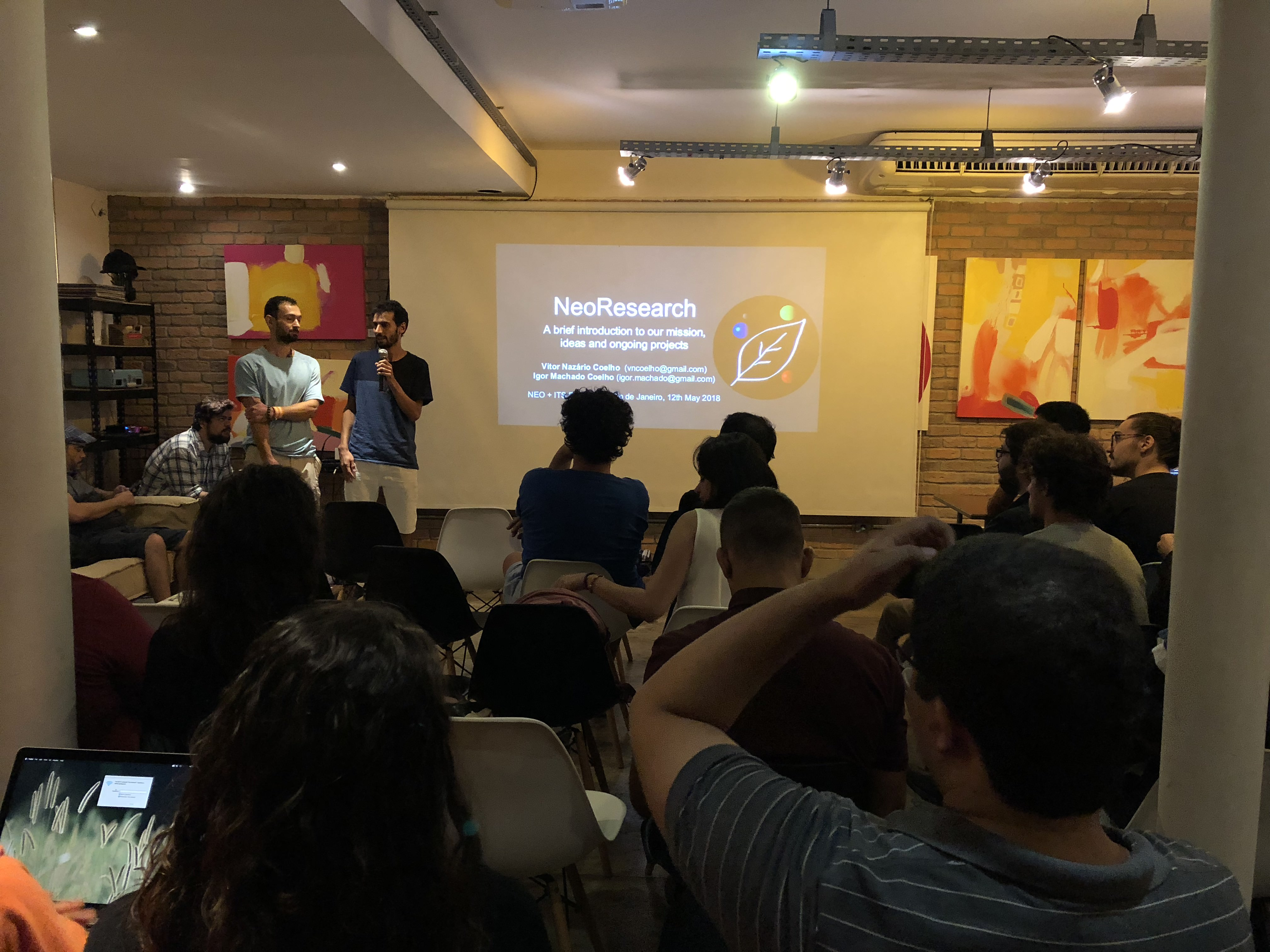 Vitor Coelho and Igor Coelho Workshop – Programming Smart Contracts with NeoCompiler Eco (system). Rio de Janeiro, 2018 - III.